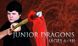 Junior Dragons | martial arts classes for ages 6-13