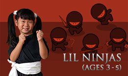 Little Ninjas | martial arts classes for ages 3-5